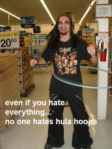 Goth hula hoop