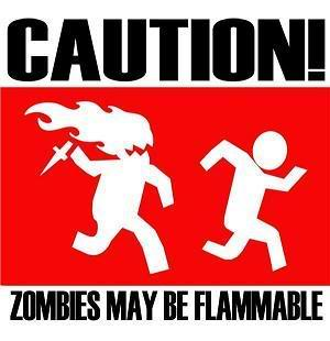 zombies may be flammable